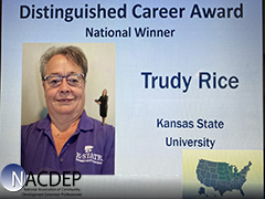 Trudy Rice - Distinguished Career Award
