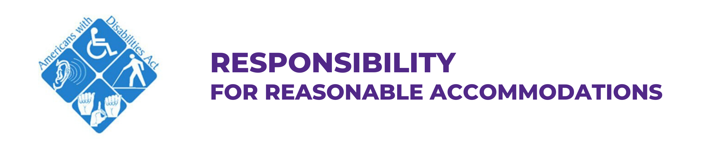 Responsibility for Reasonable Accommodations
