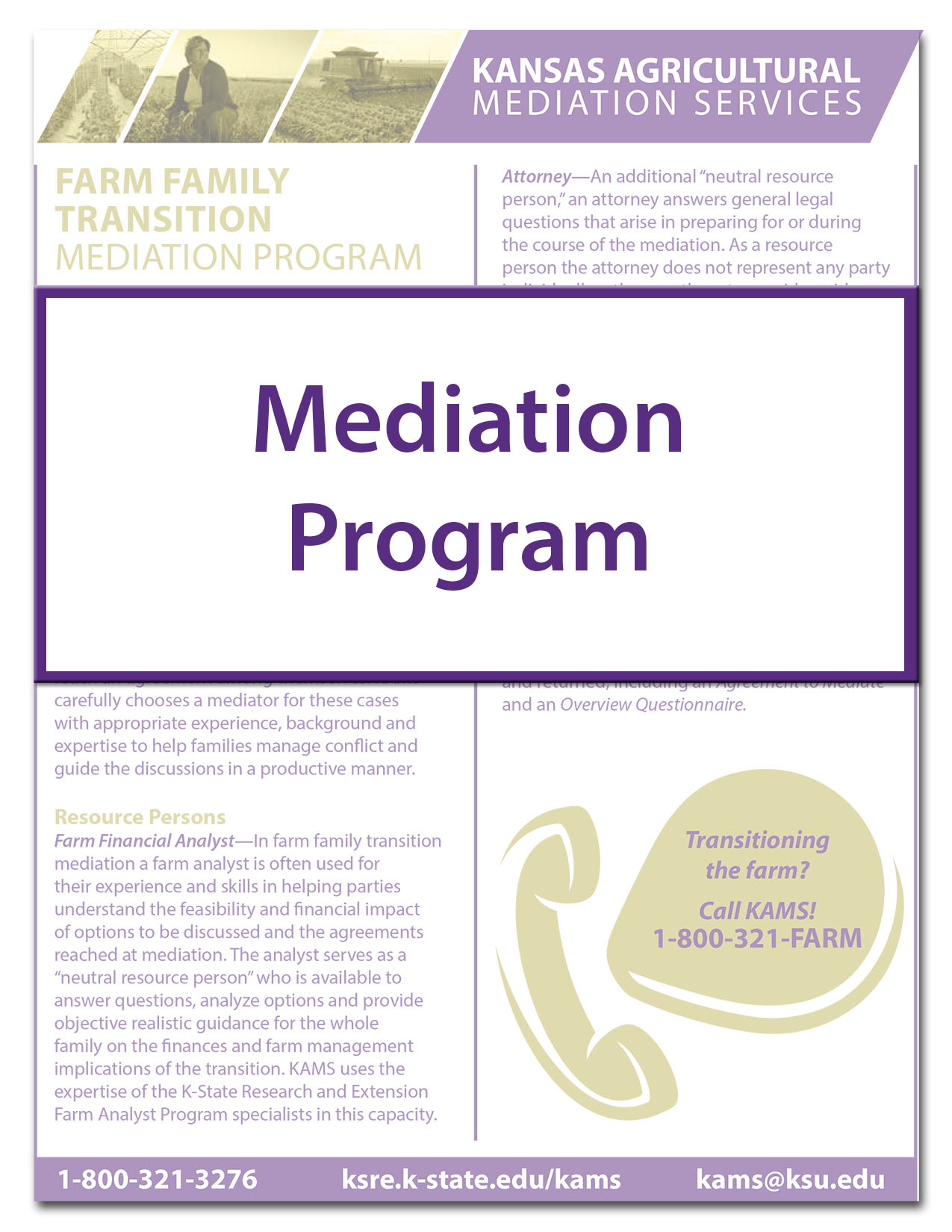 KAMS Mediation Program
