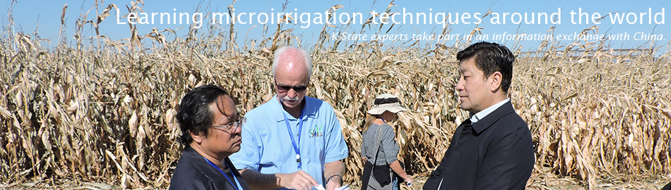 Learning microirrigation techniques around the world