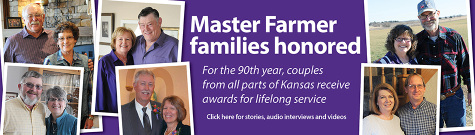 Ninetieth class of Kansas Master Farmers, Master Farm Homemakers honored