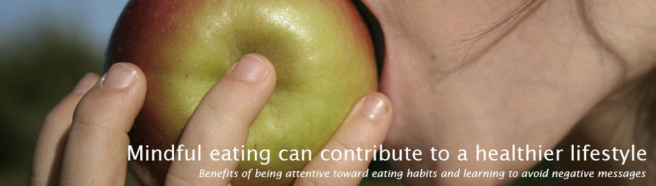 Mindful eating habits can contribute to a healthier lifestyle