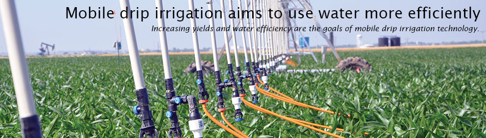 From the field: mobile drip irrigation aims to use water more efficiently