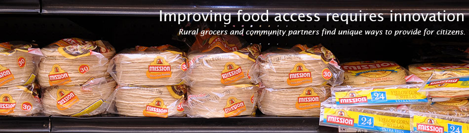 Improving food access requires innovation