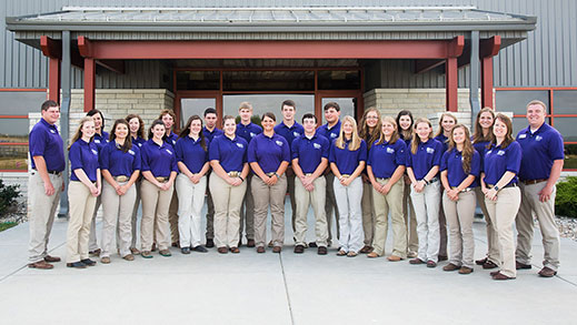 K-State Animal Sciences Leadership Academy participants