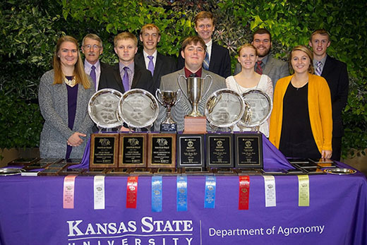 2018 K-State Crops Team, National Champions