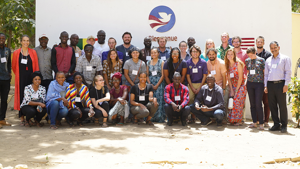 SIIL, Peace Corps and ISRA workshop participants in Senegal