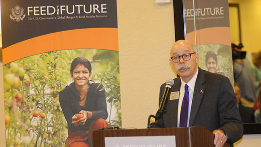 Ernie Minton, announcement of USAID Feed the Future awards