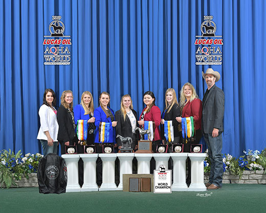 K-State Wins Horse Judging Double World Titles
