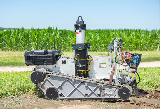 Robots, drones becoming workhorses for agriculture