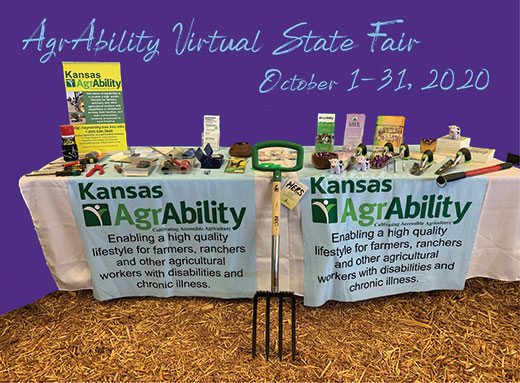 Trade fair display, Kansas AgrAbility