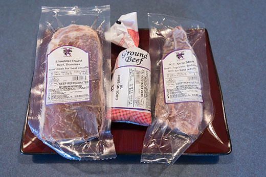 Beef products, direct marketing to consumers