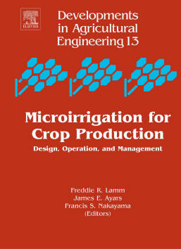 Microirrigation book cover
