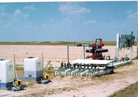 Controls, filter,  flowmeters and chemigation units at Midwest Feeders
